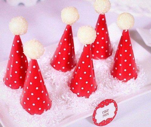 Idea de dulces de Navidad de Santa Claus