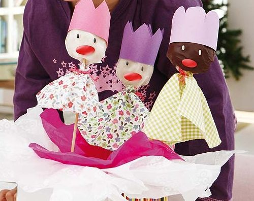 Postres de Navidad para niños- Ricos Reyes Magos