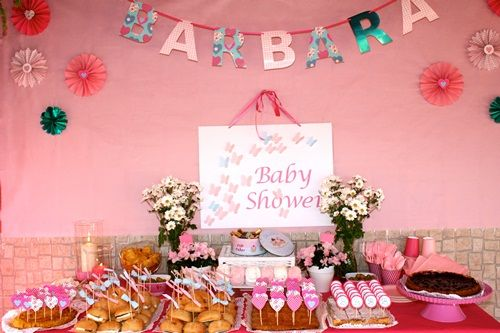 Baby shower con sabor a fresa