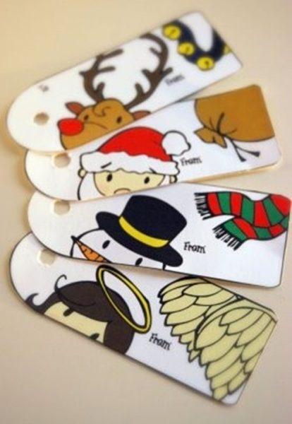 Etiquetas imprimibles ¡y gratis! para regalos de Navidad
