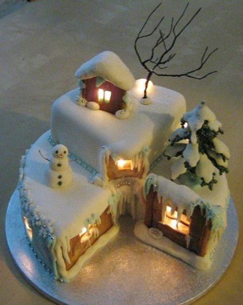 Imponente cake de Navidad: ¡la casita de jengibre!