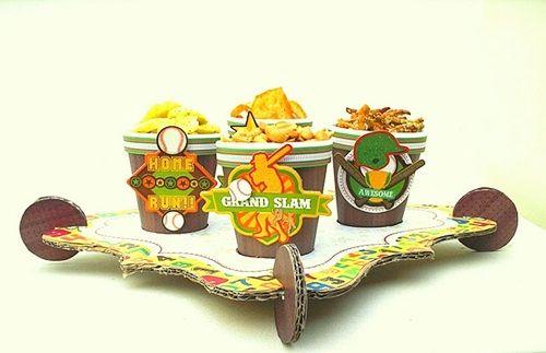 Manualidades con niños: ¡una mesa para snacks divertida!