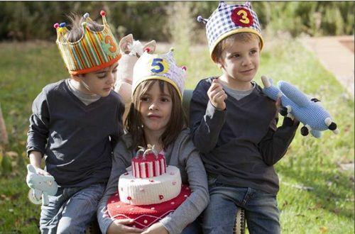 Corona para fiestas de cumpleaños y para jugar