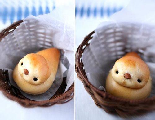 Recetas fáciles con niños: pajaritos de pan dulce