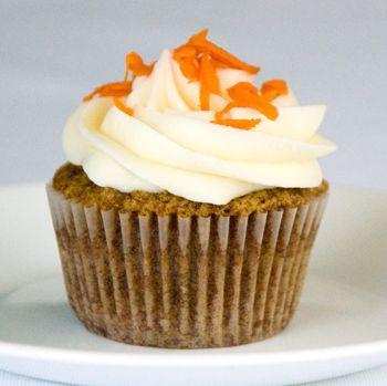 Receta Cupcake de zanahoria