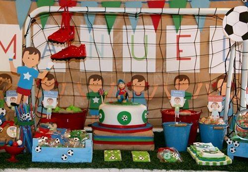 Dulces ideas para una espectacular 'fiesta infantil fútbol'
