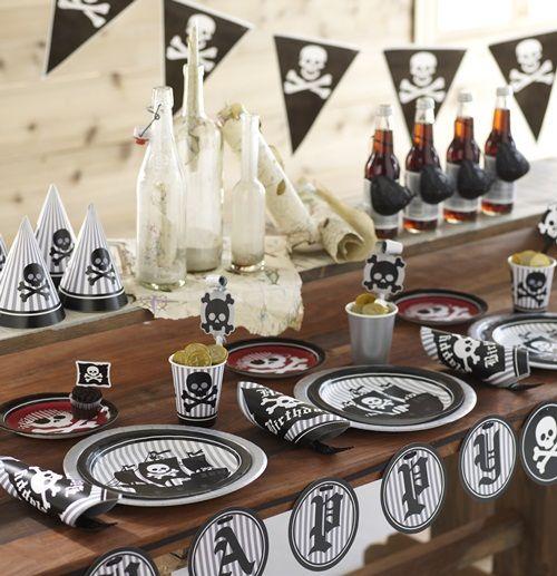 Fiestas piratas y de circo con un toque especial