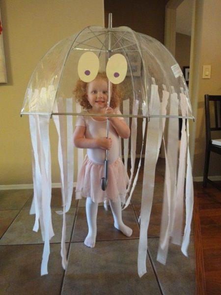 Sencillo disfraz casero de medusa
