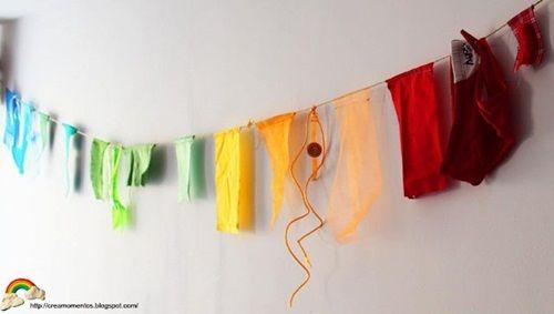 Fiesta de cumpleaños temática en torno al arcoíris