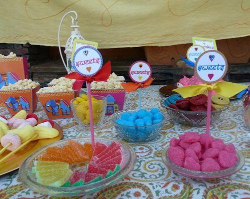 Fiesta infantil Bollywood: ¡impactante puesta en escena!
