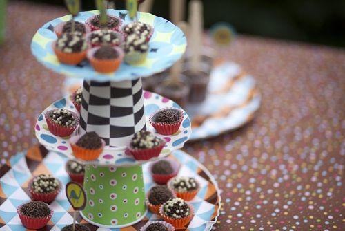 Original presentación de minicupcakes