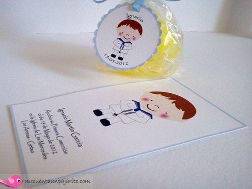 Preciosos diseños infantiles para fiesta y Comunión