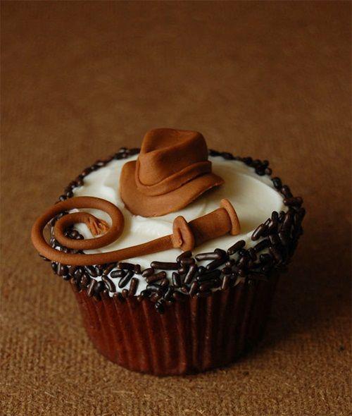 El cupcake perdido de Indiana Jones
