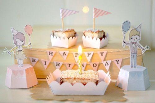 Kit de cumpleaños ideal para fiesta chic