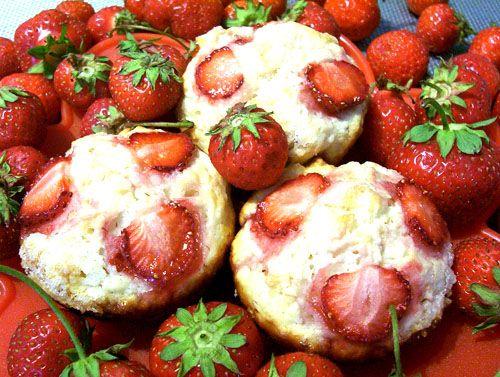 Receta  Muffins de Fresa y Canela