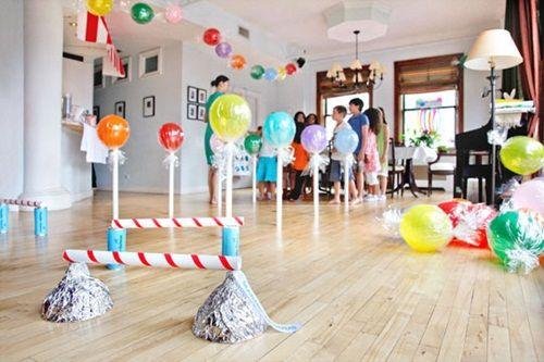 Circuito Juegos Para Niños : Preciosa fiesta con juegos y actividades para niños fiestas y