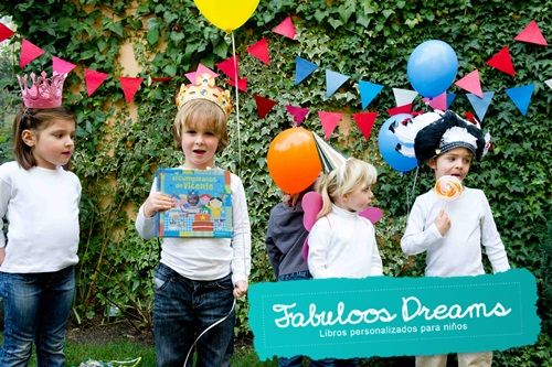 Sorteo: 2 libros personalizados para niños Fabuloos Dreams