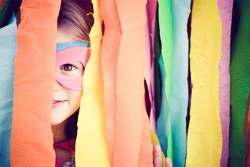 Fiesta temática de superheróes con arcoíris