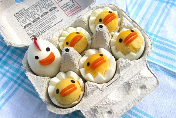 Receta Huevos hervidos