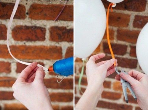 decoración original para globos infantiles