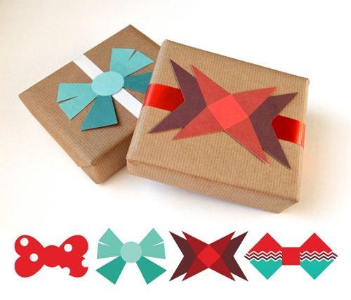 Imprimibles gratuitos para envolver regalos de forma bonita