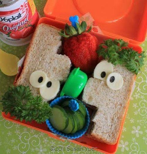 Receta fácil: meriendas divertidas para fiestas infantiles con Phineas y Ferb