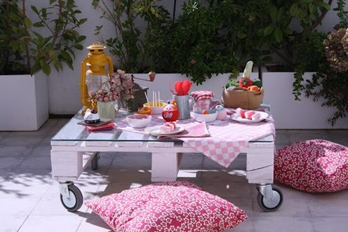 Fiesta temática picnic para niños
