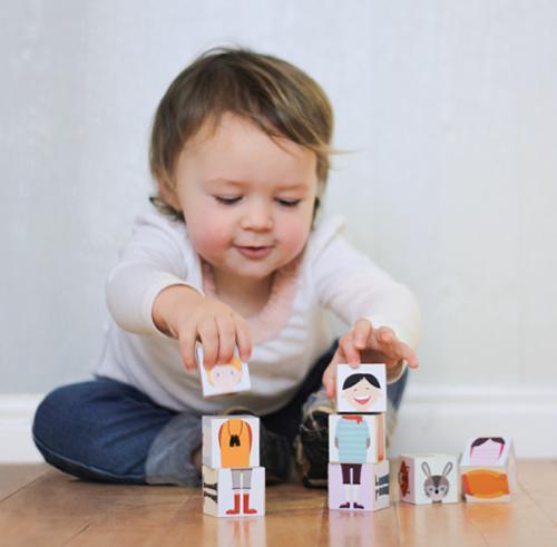 Haz juguetes creativos: descarga, imprime y crea!