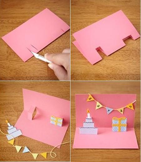 DIY: original tarjeta felicitación