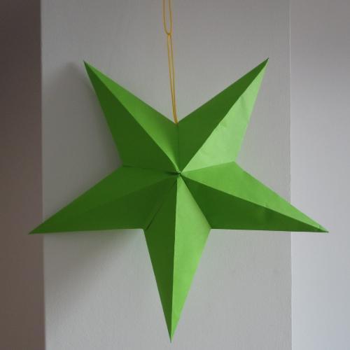 Como Hacer Una Estrella De Papel Para Decorar