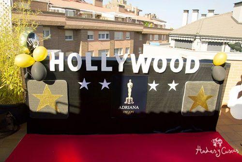Fiesta temática Hollywood de lo más inspirador…