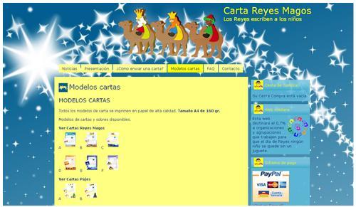 Idea para Navidad: Carta de los Reyes Magos a los niños