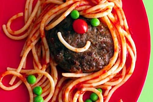 Receta divertida: hamburguesa que es una cara