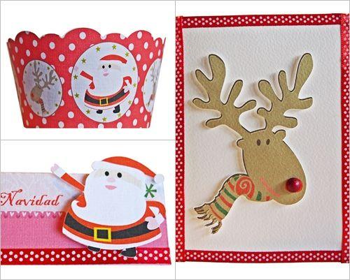 Caprichos de Navidad 'handmade' para decorar y felicitar