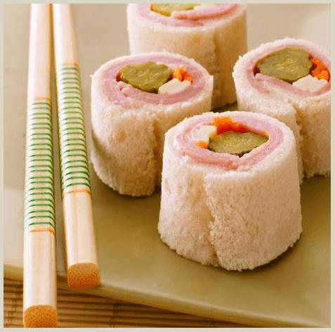 Receta Sushi para niños