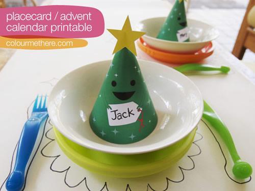 Calendario de Adviento y sorpresas para los invitados a una fiesta navideña