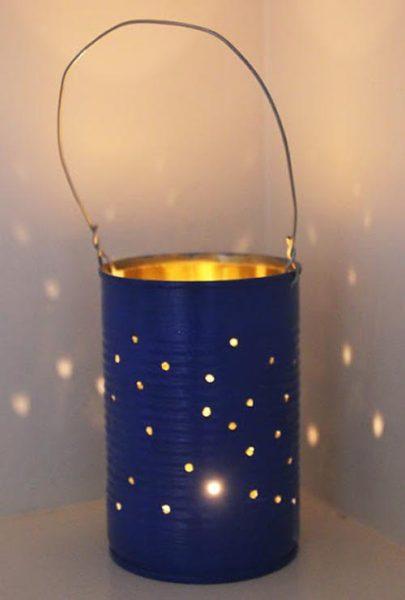 Reciclando… nos aparecen estrellas en la noche!!