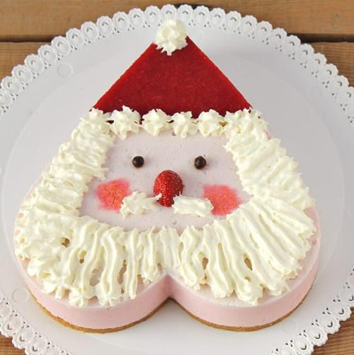 Riquísima tarta de Papa Noel