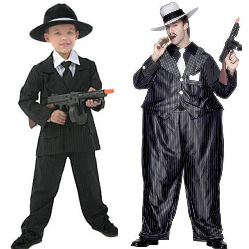 Carnaval, disfraces caseros infantiles al estilo familia Corleone