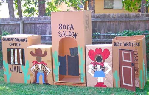 Fiesta temática infantil, el lejano oeste