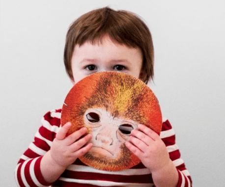 caretas de monos