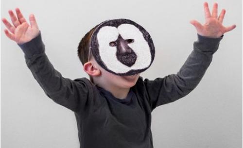 Caretas de monos para una fiesta infantil