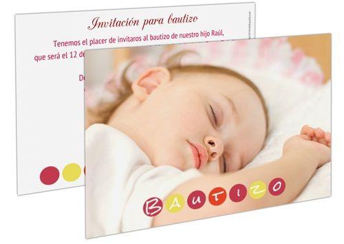 Invitaciones y tarjetas personalizadas para bebés y Comunión 2