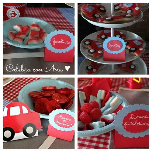 """Gran Cumpleaños """"Mis Coches Rojos"""" de Celebra con Ana"""