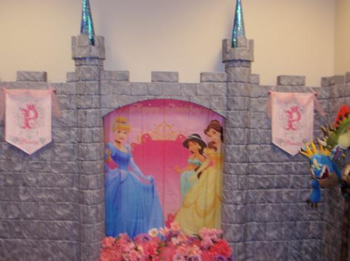 Fiesta infantil de princesas Disney