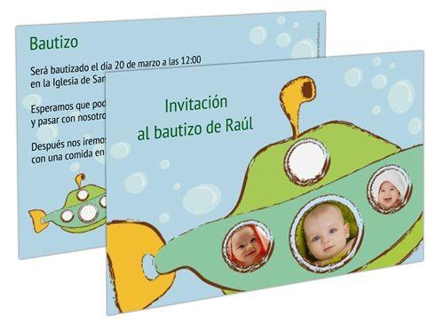 invitaciones de bautizo 6