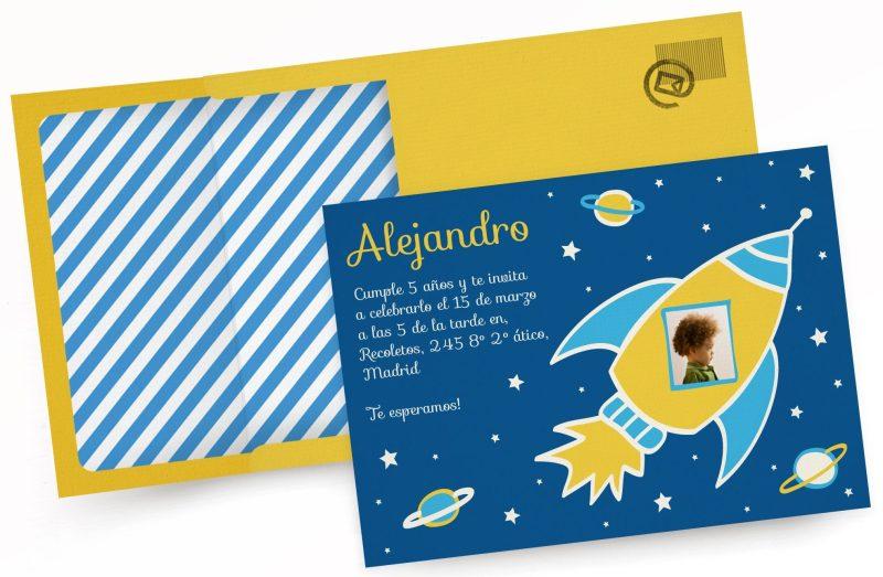 Tarjetas Invitaciones de cumpleaños personalizables