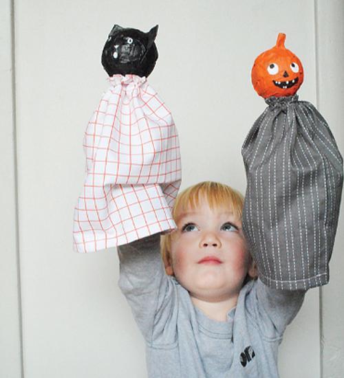 Marionetas para Halloween