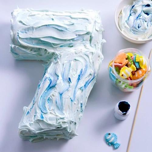 ¿Qué número necesitas para la tarta de cumpleaños?