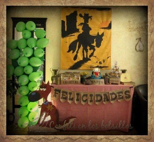 Estupenda fiesta temática de Lucky Luke